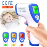 Forehead Thermometer Non-Contact Infrared Thermometer Accurate Digital Temperature Gun, Portable Body Basal Thermometer, Instant Reading Temperature for Kids and Adult CE and FCC Certification
