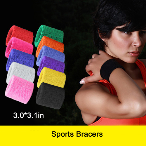 Unique Sports Multi Color Pack Sports Wristbands for Basketball Leagues, 11 different colored wristbands