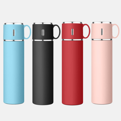 Portable handle insulated cup 316 stainless steel can be customized double stainless steel lid spray painted cup