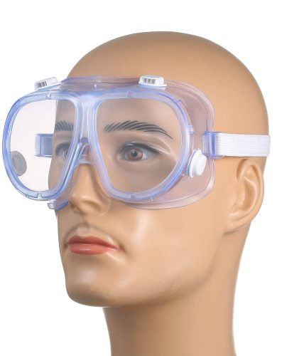 Disposable Medical Goggles Adjustable Surgical Eyewear Eye Shield Eye Protectors from Flying Particles Splatters Splash
