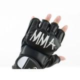 MMA Gloves UFC Gloves Boxing Gloves for Men Women Paddding Fingerless Punching Bag Gloves for Kickboxing, Sparring, Muay Thai