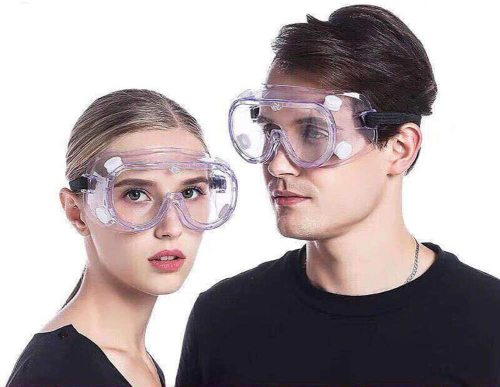 Medical Goggles 180°Eyes Protector Clear Safety Glasses, Chemical Splash Safety Goggles, Eye Protection For Home & Workplace