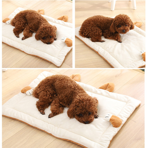 45.28inch * 27.95inch pet litter spring and autumn large dog mat dog blanket double-sided pet blanket pet litter