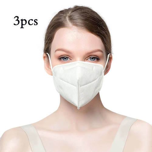 3 PCS Respirator Dust Masks Particulate Disposable Anti Pollution lMask- Anti-Dust, VIrus,Smoke, Gas, Germs and Personal Protective Equipment for Men and Women
