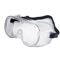 Safety Goggles Glasses For Medical Work - Protective Virus Goggles Anti-Fog Goggles Liquid Splash Clear Lens Wide-Vision Adjustable Strap Eyewear Unisex Eye Shield Spectacles