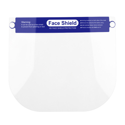 Ishopzone Face Shield Protect Eyes and Face with Protective Clear Film Elastic Band and Comfort Sponge (5 Packs)