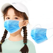 Profession Child Kids Boy Girl Mask 50Pcs 3-Ply PM2.5 Nonwoven Disposable Breathable Children Face Mask