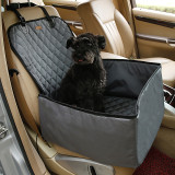 900D Nylon Waterproof Travel 2 in 1 Carrier For Dogs Folding Thick Pet Cat Dog Car Booster Seat Cover Outdoor Pet Bag Hammock