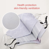 4PCS Reusable cotton masks, adjustable ear buckles, comfortable and skin-friendly material that won't hurt your ears when worn for a long time, are used to prevent dust and pollen.