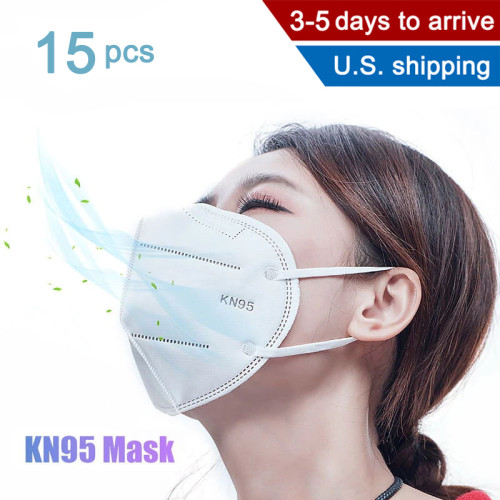 15 Kn95 masks PM2.5 Kn95 respirator masks reusable masks for men and women