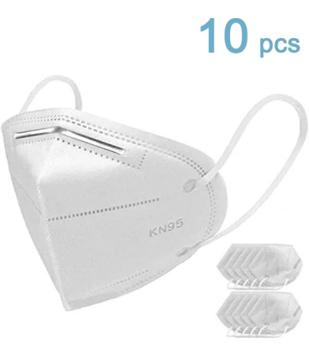10 safety facial masks, KN95 disposable products, dust-free facial cleansing masks, KN95 masks, personal protective masks