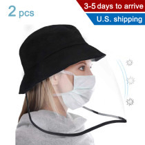 Ishopzone Safety Face Shield Visor Mask Full Face Shield Protective Cap for Men and Women Anti-Fog, Anti-saliva,Anti-Spitting Hat Cover Outdoor Fisherman Sun Hat