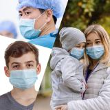300 Disposable Masks and 50 KN95 Masks, Anti-dust, Anti-virus and Anti-smog