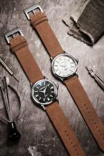 MERKUR Mens Diver Watch Conqueror Automatic Sapphire Glass 200M WR