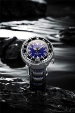 MERKUR OCEANMASTER 1000M Water Resist Big 47MM MONOBLOCK TUNA Original Design Sapphire Ceramic Bezel Japan NH35 Automatic Vinatge Homage Dive Men's Luxury Watch