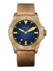 SEIZENN First Issue Pure Bronze CuSn8 Pro DIVER 600M Sapphire Men's Automatic Watch Japan NH35 44MM Super Luminova
