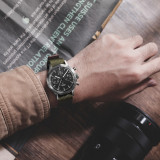FOD Type A Fliger PILOT Mechanical Chronograph Men's Watch Aviation Watch Complicated Men's Luxury Dress handwind Watch