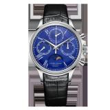 PIERRE PAULIN Mechanical Chronograph Moon Phase Calendar Complicated Men's Luxury Dress Handwind Watch