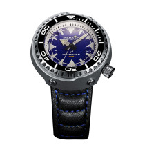 MERKUR OCEANMASTER 1000M Water Resist Big 47MM MONOBLOCK TUNA Original Design Sapphire Ceramic Bezel Japan NH35 Automatic Vinatge Homage Dive Men's Luxury Watch
