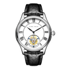 Flying Tourbillon PIERRE PAULIN Genuine Mechanical Dress Luxury Mens Watch Seagull Complicated Luxury