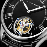 Flying Tourbillon PIERRE PAULIN Genuine Mechanical Dress Luxury Mens Watch Seagull Complicated Luxury