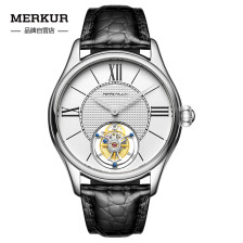 Modern Style Flying Tourbillon PIERRE PAULIN Genuine Mechanical Dress Luxury Mens Watch Seagull Complicated Luxury