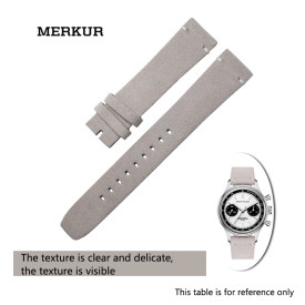 Pierre Paulin Waterproof Skin-friendly Breathable, Retro Craft Leather Watchband Watch Accessories