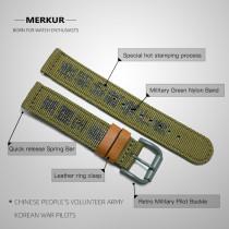18MM Metal Stailess Steel Waterproof Skin-friendly  Retro  Watchband Watch Accessories curved endlink