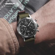 FOD Type A Fliger PILOT Mechanical Chronograph Men's Watch Aviation Watch Complicated Men's Luxury Dress handwind Watch