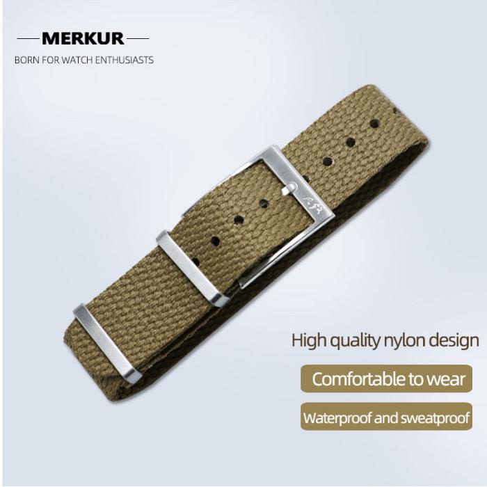 Metal Stailess Steel Waterproof Skin-friendly  Retro  Watchband Watch Accessories curved endlink