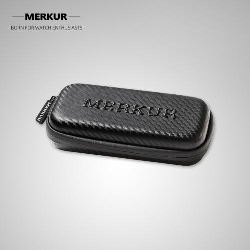 Chinese original MERKUR custom watch box lightweight waterproof zipper