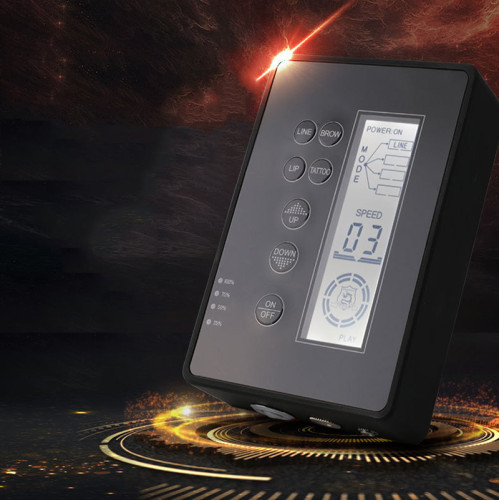 New Chargeable LCD Digital Mobile Tattoo Power Supply