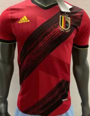 2020 Belgium Home Player Version Soccer Jersey