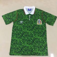 1994  Mexico Home Retro Soccer Jersey