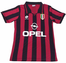 1996/1997 ACM Red And Black Home Jersey