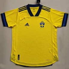 2020 Sweden Home Player Soccer Jersey