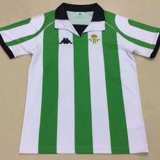 2012-2013  Real Betis Home Retro Soccer Jersey