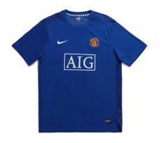 2008  Man Utd Away Retro Soccer Jersey