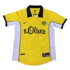 1998-2000 Borussia Dortmund Home Retro Soccer Jersey