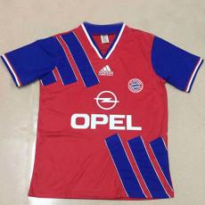 1993 Bayern Home Retro Soccer Jersey
