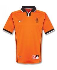 1998 Netherlands Home Retro Orange Jersey