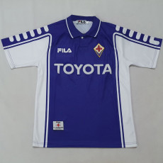 1999-2000 Fiorentina Home Retro Soccer Jersey