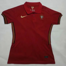 2020 Portugal Home Women Soccer Jersey