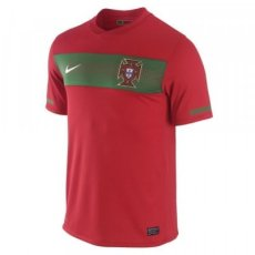2010 South Africa World Cup Portugal Home Retro Soccer Jersey