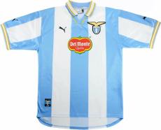 1999-2000 Lazio Home Retro Soccer Jersey