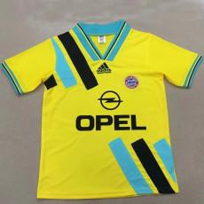 1993 Bayern Away Retro Soccer Jersey