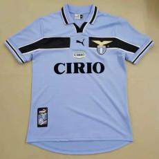 1998-1999  Lazio Home Retro Soccer Jersey
