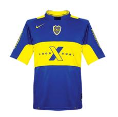 2005 Boca Junior Centenary Home Retro Soccer Jersey