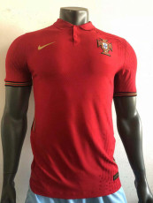 2020 Portugal Home player version Soccer Jersey