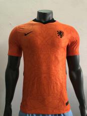 2020 Netherlands Home player version Soccer Jersey